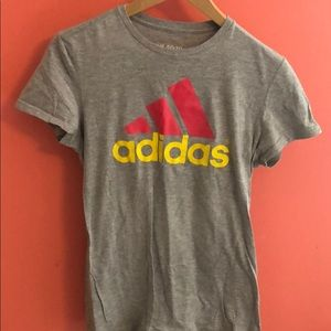Light grey Adidas t shirt